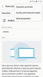 Samsung Galaxy A3 (2017) (A320) - Internet et connexion - Partager votre connexion en Wi-Fi - Étape 8
