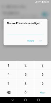 LG V30 (LG-H930) - Beveiliging en ouderlijk toezicht - Hoe wijzig ik mijn SIM PIN-code - Stap 12