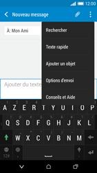 HTC Desire 610 - Contact, Appels, SMS/MMS - Envoyer un MMS - Étape 10