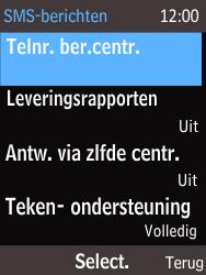 Nokia 215 (Type RM-1111) - SMS - Handmatig instellen - Stap 7