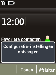 Nokia X3-02 - Internet - automatisch instellen - Stap 3
