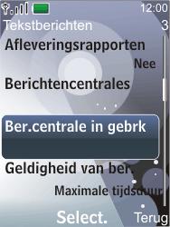 Nokia 7210 supernova - SMS - Handmatig instellen - Stap 10