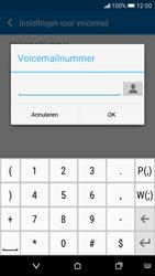 HTC Desire 626 - Voicemail - Handmatig instellen - Stap 7
