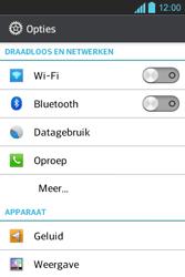 LG E610 Optimus L5 - Internet - Uitzetten - Stap 4
