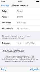 Apple iPhone 5 (iOS 8) - apps - account instellen - stap 24