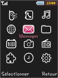 Samsung S5050 Allure S - SMS - Configuration manuelle - Étape 3