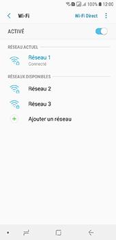Samsung Galaxy A6 - Wifi - configuration manuelle - Étape 8