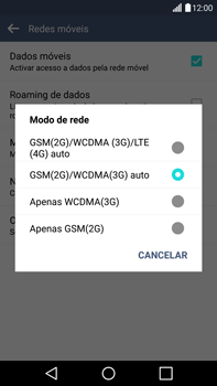 LG G4 - Internet no telemóvel - Como ativar 4G -  7