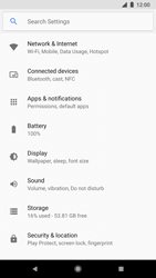Google Pixel 2 - WiFi and Bluetooth - Manual configuration - Step 4