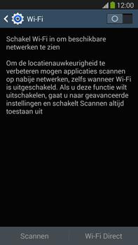 Samsung N9005 Galaxy Note III LTE - WiFi - Verbinden met een netwerk - Stap 5