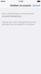Apple iPhone SE - iOS 10 - Applicaties - Account aanmaken - Stap 24