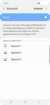 Samsung Galaxy S10 Plus - Bluetooth - connexion Bluetooth - Étape 9