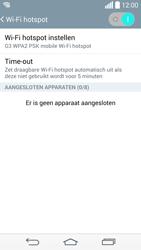 LG G3 4G (LG-D855) - WiFi - Mobiele hotspot instellen - Stap 11