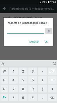 HTC HTC Desire 825 - Messagerie vocale - configuration manuelle - Étape 8