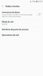 Samsung Galaxy A3 (2017) (A320) - Red - Seleccionar el tipo de red - Paso 8