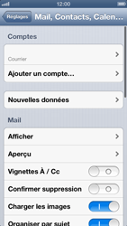 Apple iPhone 5 - E-mail - Configurer l