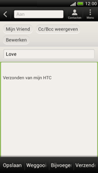 HTC Z520e One S - E-mail - E-mail versturen - Stap 8