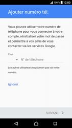 Sony Xperia XA1 - Applications - Créer un compte - Étape 14