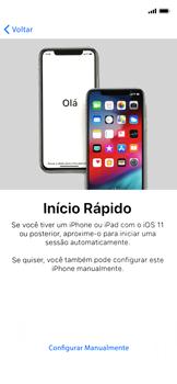 Apple iPhone XR - Primeiros passos - Como ativar seu aparelho - Etapa 7