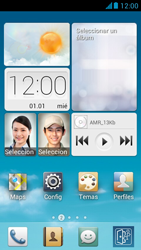 Huawei Ascend G510 - Rede móvel - Como ativar e desativar uma rede de dados - Etapa 1