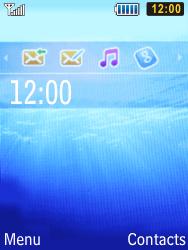 Samsung S5610 Primo - Wifi - configuration manuelle - Étape 1