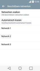 LG H320 Leon 3G - Netwerk - Handmatig netwerk selecteren - Stap 12