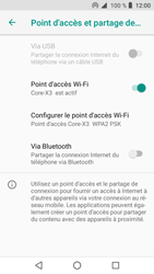Crosscall Core X3 - Internet et connexion - Partager votre connexion en Wi-Fi - Étape 10