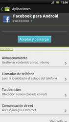 Sony Xperia U - Aplicaciones - Descargar aplicaciones - Paso 7
