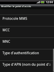 HTC A3333 Wildfire - MMS - Configuration manuelle - Étape 10