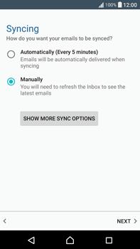 Sony F3211 Xperia XA Ultra - Email - Manual configuration - Step 20