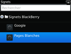 BlackBerry 9790 Bold - Internet - Navigation sur internet - Étape 9