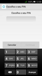 Alcatel Pixi 3 - Segurança - Como ativar o código de bloqueio do ecrã -  7