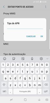 Samsung Galaxy S9 - Internet (APN) - Como configurar a internet do seu aparelho (APN Nextel) - Etapa 14