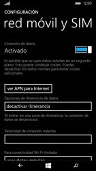 Microsoft Lumia 535 - Internet - Activar o desactivar la conexión de datos - Paso 5