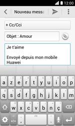 Huawei Ascend Y330 - E-mail - envoyer un e-mail - Étape 9