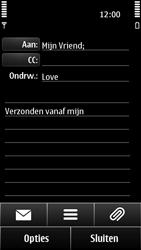 Nokia 500 - E-mail - e-mail versturen - Stap 8