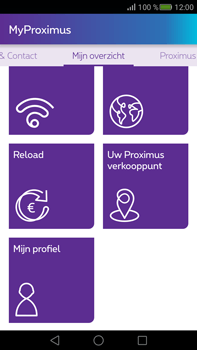 Huawei Mate S - Applicaties - MyProximus - Stap 21