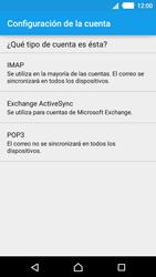 Sony Xperia M4 Aqua - E-mail - Configurar correo electrónico - Paso 8