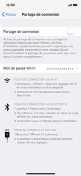 Apple iPhone XS - Internet - Configurer un point d'accès mobile - Étape 6