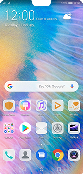 Huawei P20 Android Pie - Voicemail - Manual configuration - Step 2