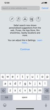 Apple iPhone XR - Internet - Internet browsing - Step 3