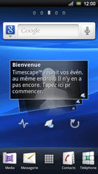 Sony Ericsson Xperia Ray - MMS - configuration automatique - Étape 1