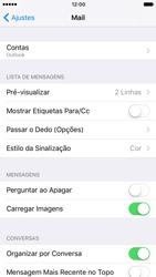 Apple iPhone iOS 10 - Email - Como configurar seu celular para receber e enviar e-mails - Etapa 10