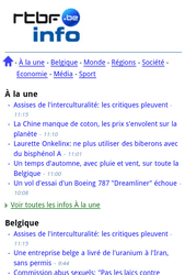 Nokia Lumia 900 - Internet - Sites web les plus populaires - Étape 6