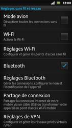 Sony ST25i Xperia U - Wifi - configuration manuelle - Étape 4