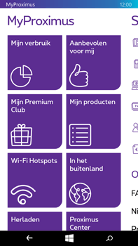 Microsoft Lumia 640 XL - Applicaties - MyProximus - Stap 12