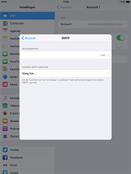 Apple ipad-mini-retina-met-ios-10-model-a1490 - E-mail - Instellingen KPNMail controleren - Stap 13