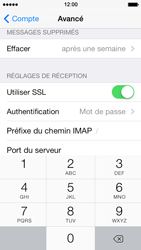 Apple iPhone 5s - E-mail - Configuration manuelle - Étape 25