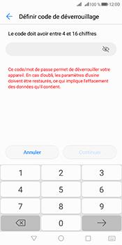 Huawei Mate 10 Pro - Sécuriser votre mobile - Activer le code de verrouillage - Étape 7