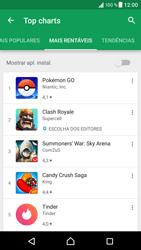 Sony Xperia XZ - Android Nougat - Aplicações - Como pesquisar e instalar aplicações -  9